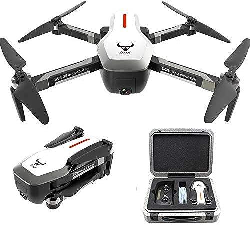 ETbotu Drohne,ZLRC Bestie SG906 5G WiFi GPS mit 4K Kamera und EPP Koffer 3 Batterie