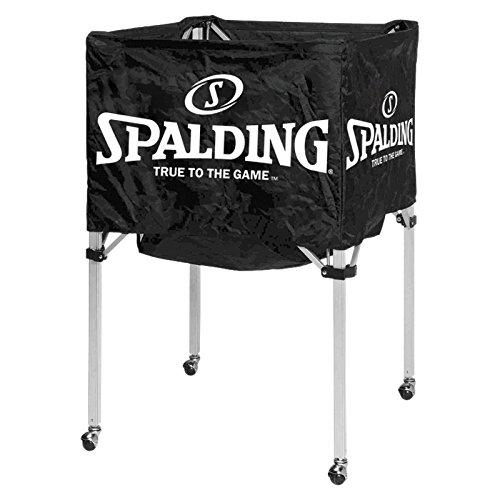 Spalding Ballwagen für 15 Bälle 68-450 Basketball, black, One size
