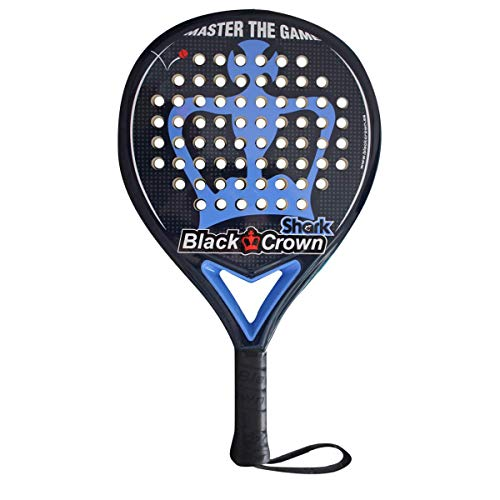Black Crown Pala de Pádel Shark Nivel: Medio | Potencia 80%, Control 90%