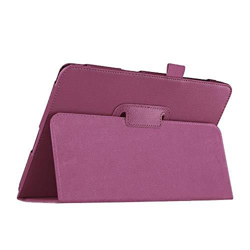Funda de Cuero para Samsung Galaxy Tab A 9,7 Pulgadas SM-T550 SM-T555 SM-P550 SM-P555 Tablet Tablet para Samsung Galaxy Tab A 9.7 Casos-T550 P550 Purple