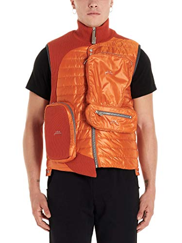 Luxury Fashion | A-cold-wall* Heren ACWMF19CNB04ORANGE Oranje Katoen Gilets | Herfst-winter 19