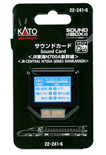 KATO Nゲージ サウンドカード JR東海N700A新幹線 22-241-6