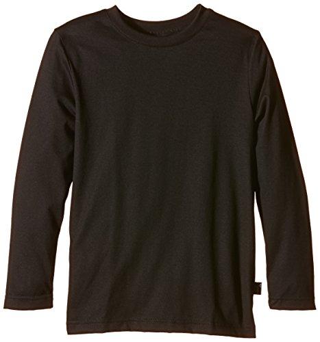 Trigema Jungen 336501 Langarmshirt, Schwarz (schwarz 008), 152