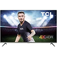 TCL 43EP640, Televisor 108 cm (43 pulgadas), Smart TV con Resolución 4K, HDR10, Micro Dimming Pro, Android TV, Alexa, Google Assistant, Multicolor [Clase de eficiencia energética A]