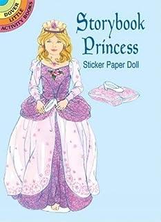 Storybook Princess Sticker Pap Doll