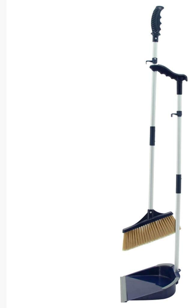 NLIAN- Long Atlanta Mall Handle Dustpan and Cheap super special price Brush Home Broom Modern Lobby Set