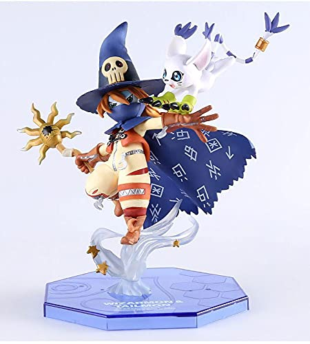 GKLHC Digimon Digimon Adventure Wizard Beast Anime Figuras Modelo Estatua PVC Figura Decoraciones De Juguete Coleccionables