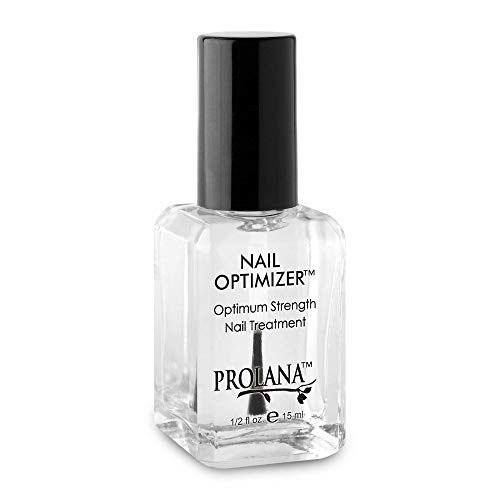 Prolana Nail Optimizer One-Step Multi Use Nail Fortifier, Nail Hardener, Nail Strengthener - Optium Strength Nail Treatment .5 ounces/ 15 milliliters