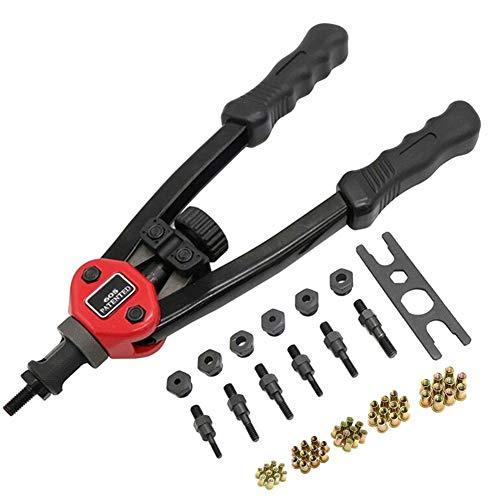 MJYT Easy Automatic Rivet Tool Set Heavy Duty Flexible Handle Rivet Nut Setter