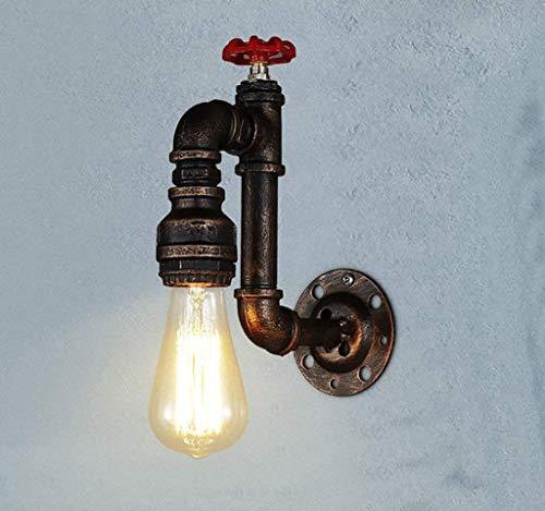 Yanqing Wandlamp, industriële, Amerikaans, vintage, nostalgisch, restaurant, bar, café, B & Binn Aisle wand, broek, wandlamp, bronskleurig