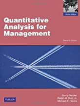 Quantitative Analysis for Management by Render Barry Stair Ralph M. Hanna Michael E. (2011-03-28) Paperback