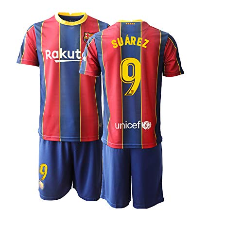 JEEG 20/21 Herren Suarez 9# Fußball Trikot Fans Jersey Trainings Trikots (XXL)