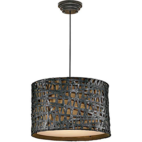 Hot Sale Uttermost 21104 Alita Metal Hanging Shade, Rust Black Finish
