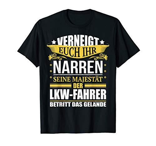Herren LKW Fahrer T-Shirt lustiger Spruch Trucker Geschenk T-Shirt
