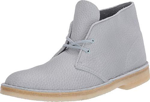 Clarks Desert Boot Light Blue Leather 13