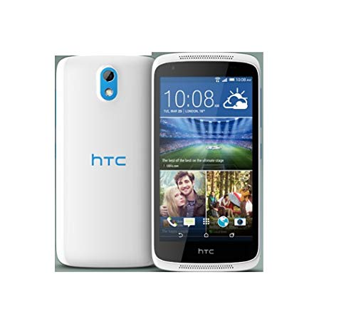 HTC Desire 526G Dual-Sim Smartphone mit 4,7 Zoll Display | 8GB Speicher und Android 4.4 | Glacier Blau