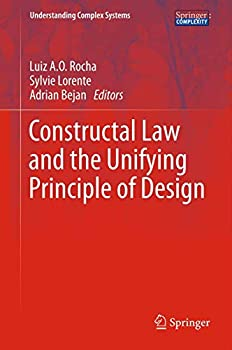 Paperback Constructal Law and the Unifying Principle of Design Book