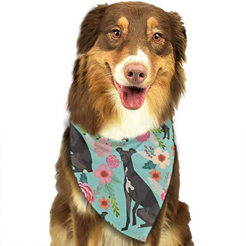 HomeLEE Indian Mandala libelle insecten dier hond Bandanas hals sjaal schattig puppy en huisdier verjaardag Bandana sjaals, driehoek Kerchief voor partij, bruiloft, kinderen baby meisje jongen hond, Eén maat, Italian Greyhound