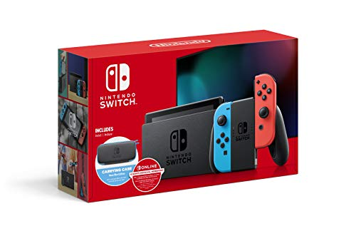 Switch with Neon Blue and Neon Red Joy-Con - 6.2