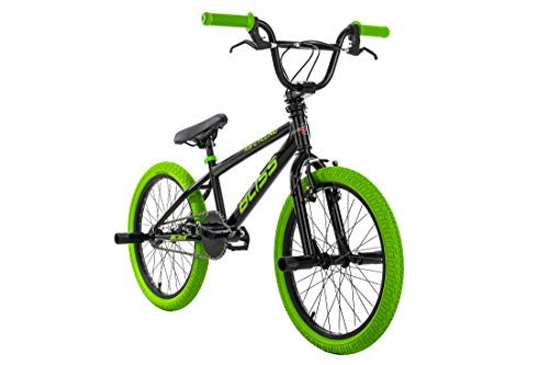 KS Cycling BMX Freestyle 20' Bliss Noir/Vert 28 cm