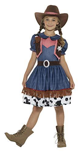 Smiffys texanisches Cowgirl-Kostüm, Mädchen-Kostüm, Rodeo, Wilder Westen, Western, Kinder-Kostüm