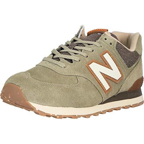 New Balance NB 574 Zapatillas, color Verde, talla 46.5 EU
