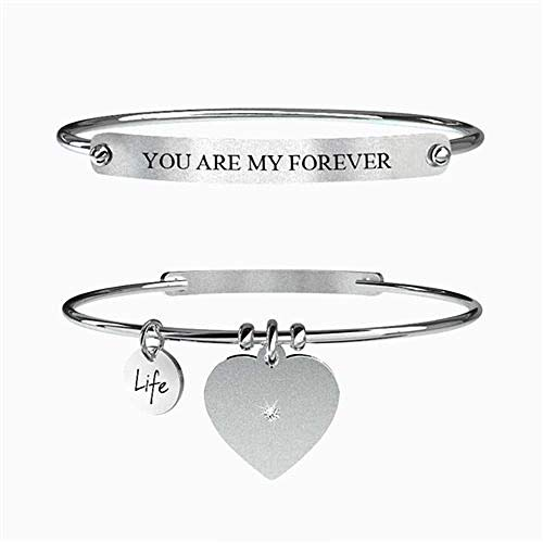 Lui & lei Always & Forever, Large, Argento