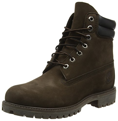 Timberland Herren 6 Inch Double Collar Stiefel, Braun (Medium Brown Nubuck), 42 EU