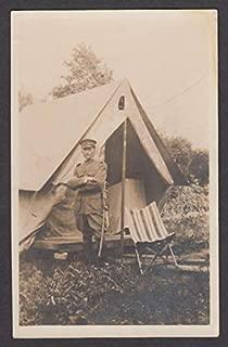 German Cavalry Officer WWI RPPC postcard 1910s