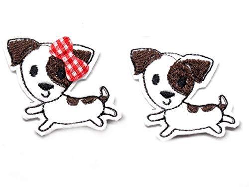 Hund Haarspange Jack Russell Terrier für Kleinkinder - freie Farbwahl
