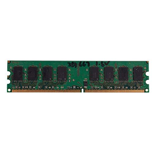 TOOGOO 2GB DDR2 PC2-5300 667MHz 240Pin 1.8V Desktop RAM de Memoria DIMM para Intel, para (2GB / 667)