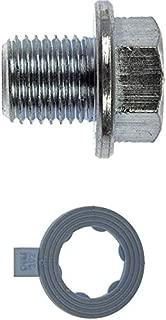 APDTY 101144 Engine Oil Drain Plug M14 x 1.50 17mm