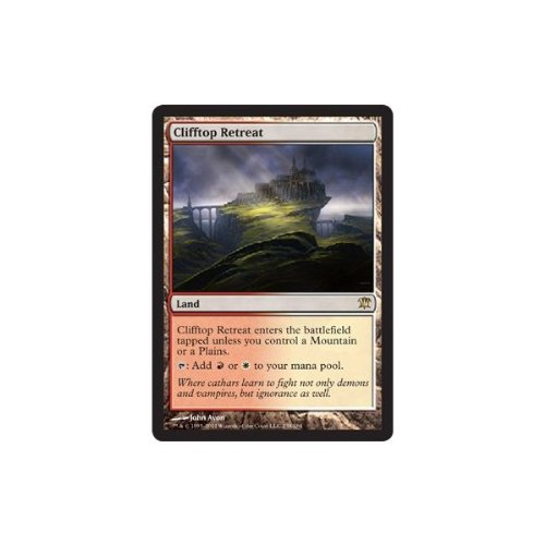 Magic: the Gathering - Clifftop Retreat - Innistrad