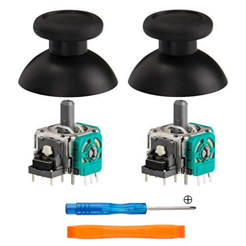 Tomins-Ersatz-Analog-Modul, 3D-Joystick-Sensor, Thumbsticks für Nintendo Switch Pro Controller, 2 Stück