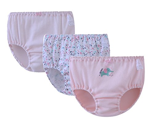 ABClothing ABClothing Baby-Mädchen-Elefant-Ausstattungs-Unterwäsche für Kleinkind-Rosa 7T 8T
