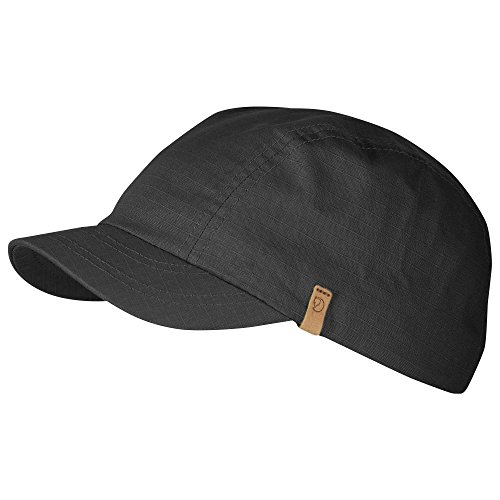 Fjällräven Erwachsene Kappe Abisko Pack Cap, grau (Dark Grey), One Size