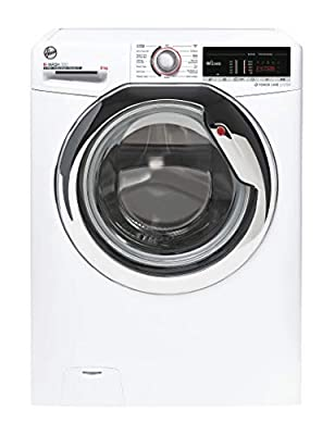 Hoover H-Wash 300 H3WS495TACE Free Standing Washing Machine, WiFi Connected, 9KG, 1400 rpm, White