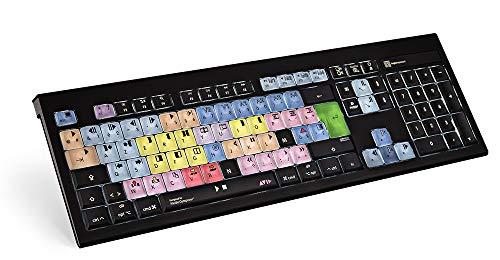 LogicKeyboard LKB-MCOM4-AMBH-FR Tastatur, Avid Media Composer Astra BL (Apple Mac) Schwarz/Bunt