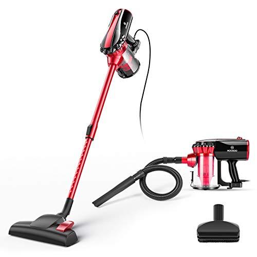 MOOSOO Vacuum Cleaner, 17KPa Strong Suction 4 in 1 Corded Stick Vacuum...
