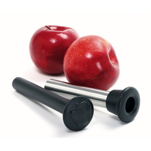 Norpro Stainless Steel Apple Corer with Plunger, 10 IN, Silver