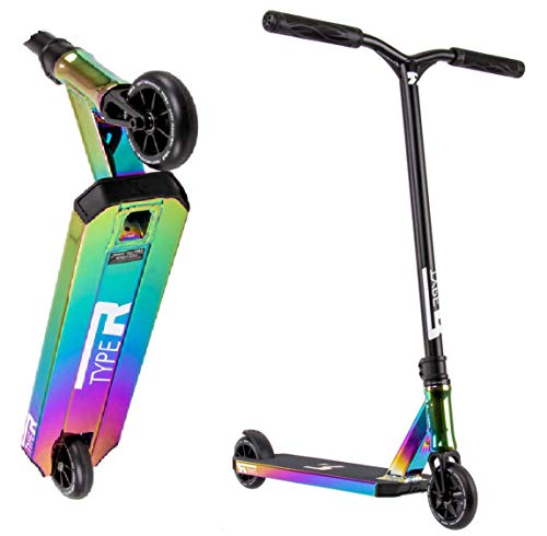 Root Industries Type R Stunt Scooter H = 82,5 cm (Oilslick Rainbow neochrome)