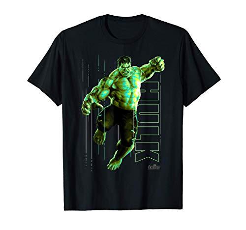Marvel Infinity War Incredible Hulk Jump Smash T-Shirt T-Shirt