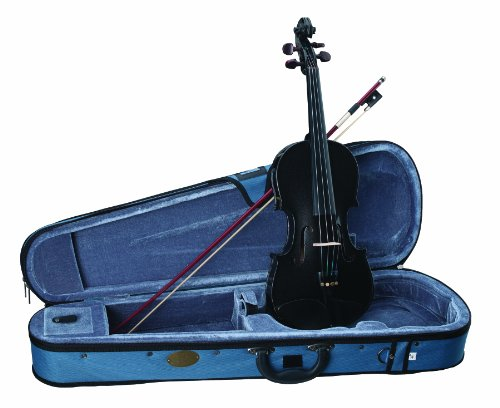 Other, 4-String Violin, Black, 4/4 (1401BK-4/4)
