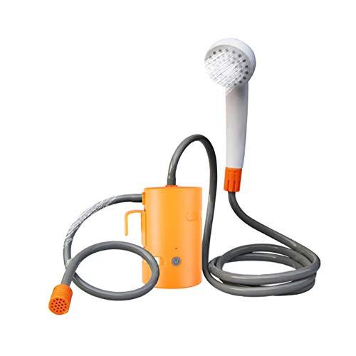 Aohuada Ducha portátil para camping al aire libre recargable por USB con bomba sumergible para viajes de mascotas