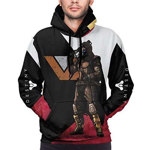 LiYang De-Sti_Ny 2 Cayde-6 Personalisierter Unisex Pullover 3D Digital Print Sweatshirt Hoodie Groß