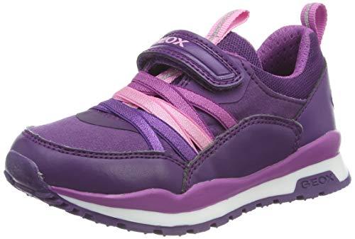 Geox Mädchen J Pavel Girl B Sneaker, Violett (Violet/Purple C8267), 37 EU