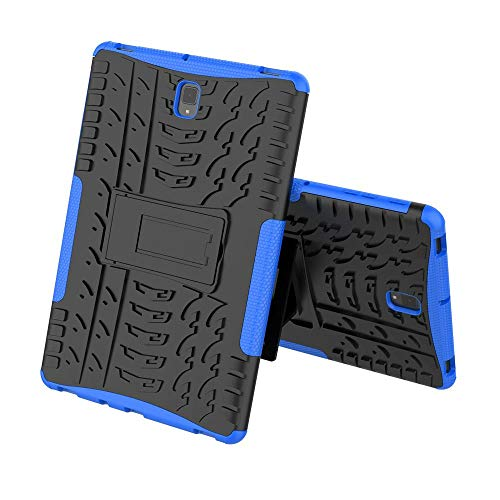 Galaxy Tab S4 10.5 Case, Midcas Heavy Duty Dual Layer Hybrid Rugged Reinforced Corners Impact Protection Case Cover with Stand Function for Samsung Galaxy Tab S4 10.5' SM-T830N/T835N 2018 Blue