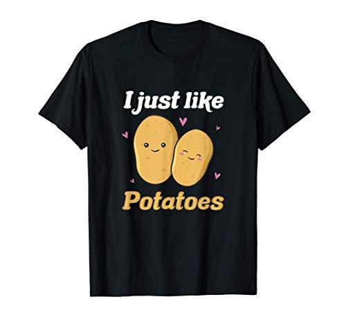 Potato Funny Saying Cute Yam Vegetable Vegan Thanksgiving T-Shirt