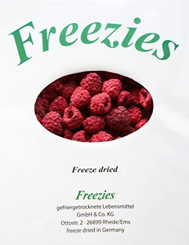Freezies® Himbeeren gefriergetrocknet 100g | Raspberries freeze dried ohne Zuckerzusatz , 100% Früchte Snack 100g