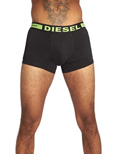 Diesel UMBX-KORYTHREEPACK, Calzoncillo para Hombre, Multicolor (Black), S, Pack de 3